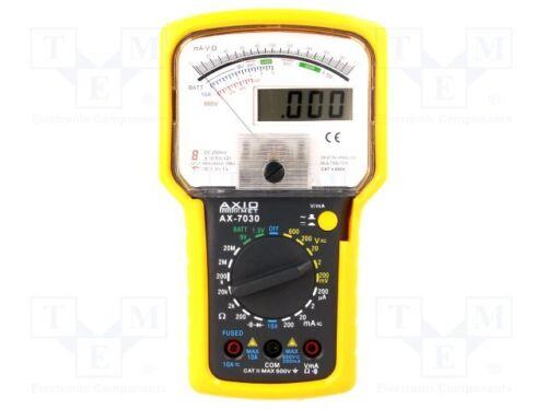 1 st Analog-digitaler Multimeter; LCD 3,5 Ziffern 15 mm analog