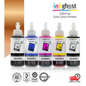 5X100ml-Ink-refill-for-Canon-cartridge-MP620-MP630-MP640-MX850-MX926-IP7260-CIS