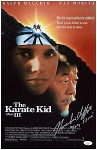 Thomas Ian Griffith Autograph Signed 11x17 Photo - Karate Kid 3 (JSA COA)