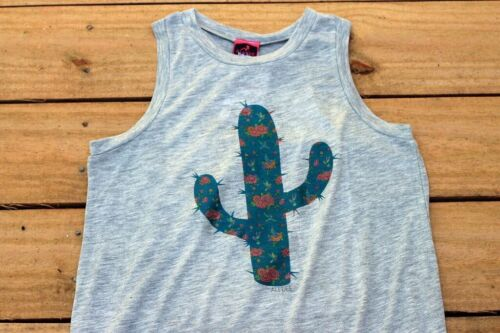 Floral Blooming Cactus /& Hummingbirds Tank Top Shirt Cowgirl Southwest