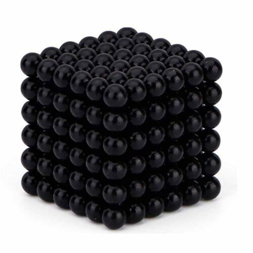 216 Stücke 3mm 5mm Magie Magnete Ball Neodym Kugel 3D Puzzle Cube Stressabbau T