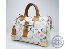 AUTH PRE-OWNED LOUIS VUITTON LV MONOGRAM MULTI COLOR SPEEDY 30 BAG M92643 161167
