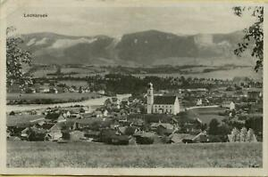 2218: Ansichtskarte Postkarte Lechbruck Ortsansicht mit Kirche