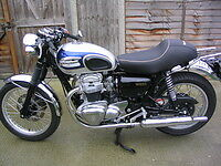 Image Is Loading Kawasaki W650 Seat Cafe Racer Style New Also