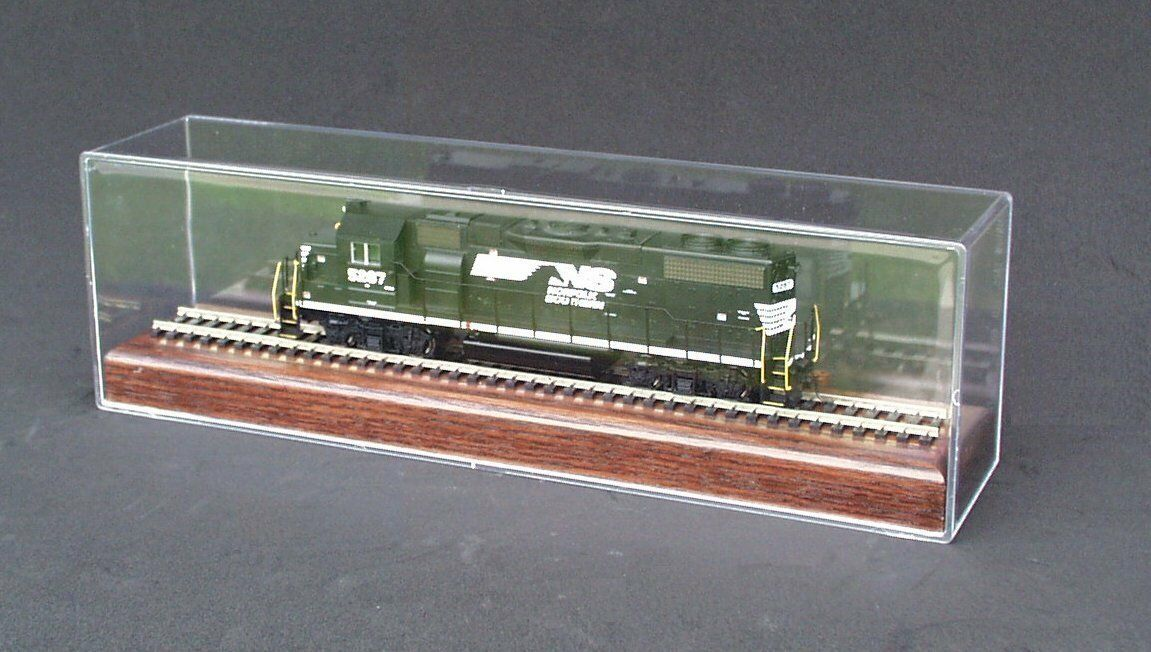 MIB Athearn GP38-2 Norfolk Southern  5287 5287 5287 with 13  Train Display Case 020fac
