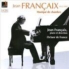 Jean Fran‡aix: Musique de chambre (CD, Jul-2012, 3 Discs, Indesens)