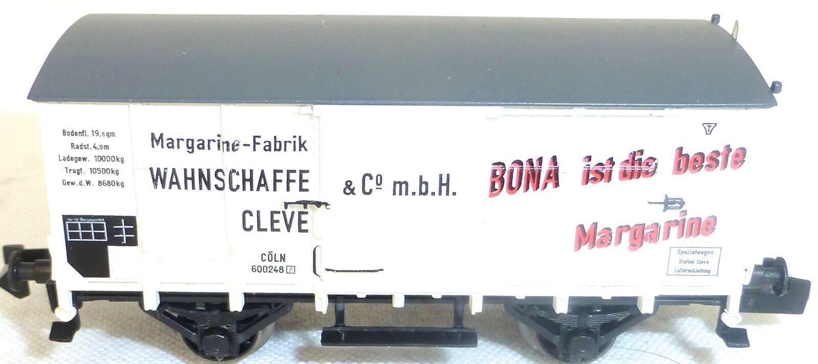 Bona Margarina Vagón de Mercancía Colonia 600248 Nuevo sin Emb.orig Fleischmann
