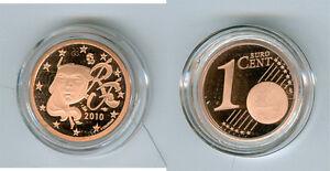 France 1 Cent Pp / Proof (Choisissez Entre Les Millésimes : 2008-2018)