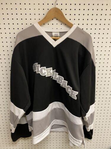 Nickelback 2004 Canadian Tour Black Hockey Jersey