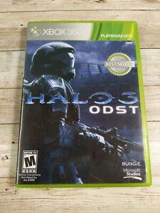 Halo 3: ODST (Xbox 360, 2009) VERY GOOD W/MANUAL 2-DISC, MAIL IT TOMORROW!