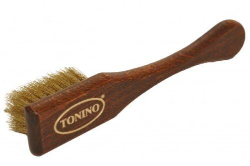 Tonino Wildlederbürste Raulederbürste Nubuk reinigen und aufrauhen