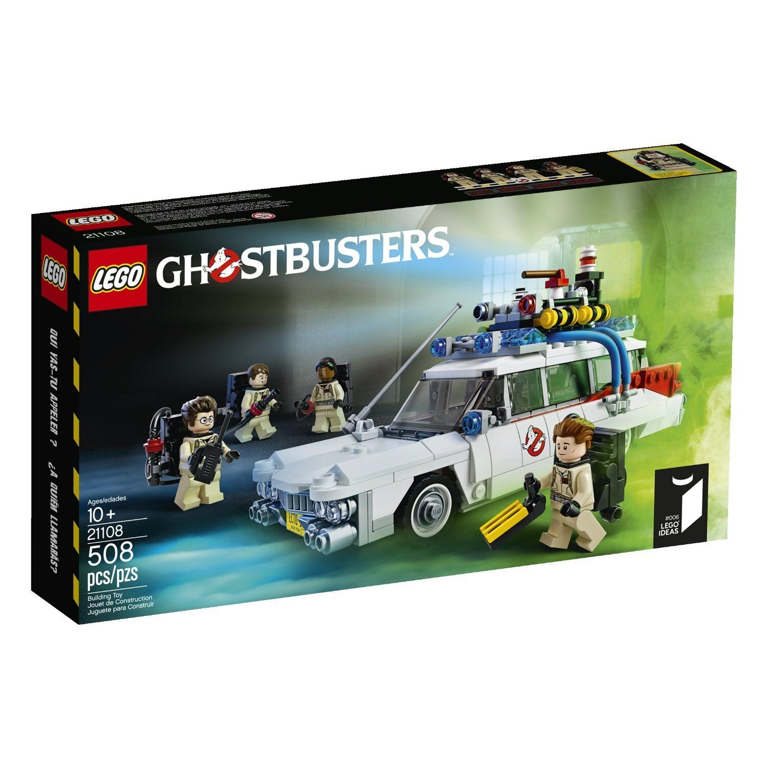 LEGO Ghostbusters 21108 30th Anniversary  ECTO-1 SEALED & NEW