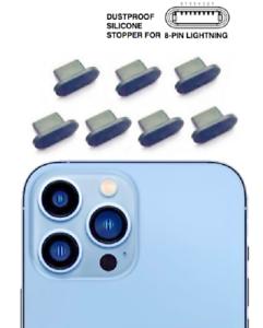 7x iPhone 13 Pro 13 Pro Max Staubschutzstecker Ladeanschluß Stöpsel Silikon