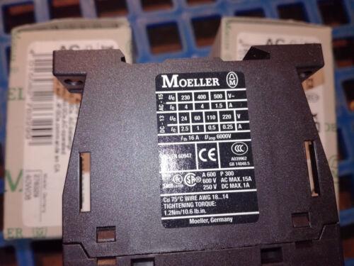 Moeller X-Start Hilfsschütz Schütz DILA-40 A.Nr.276329 EAN 4015082763299 Neuware