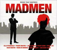 MUSIC THAT INSPIRED MADMEN - VARIOUS ARTISTS (NEW 2CD)