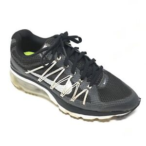 Details about Women's Nike Air Max Excellerate 3 Shoes Sneakers Size 8 Running Black White O6