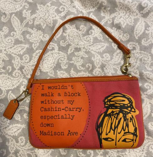 COACH Madison Ave Bonnie Cashin-Carry Zip Wristle… - image 1