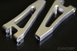 2x bras de suspension supérieur avant 166018 06039b 06051 alu mise à niveau part aluminium rc  </span>