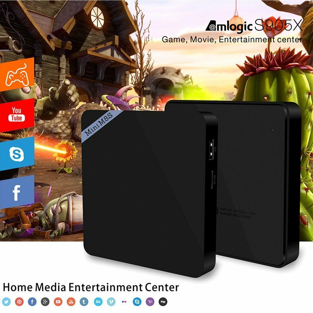 Mini M8S II TV BOX Set-top Box Amlogic S905X Android 6.0 Smart Media Player Featured