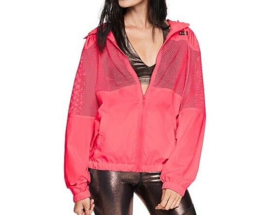 Victoria's Secret Pink Mesh Anorak               (Size XS S)     RRP