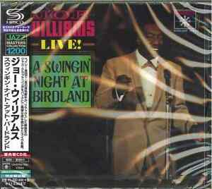 JOE-WILLIAMS-A-SWINGIN-039-NIGHT-AT-BIRDLAND-JAPAN-SHM-CD-C15