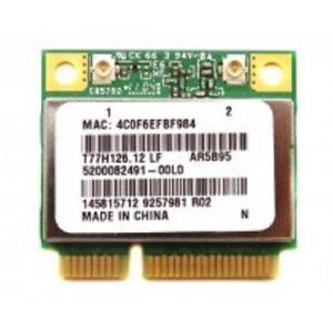Atheros T77H126 AR9285 AR5B95 802.11n Wireless Wifi Card WLAN Half Mini PCI-E