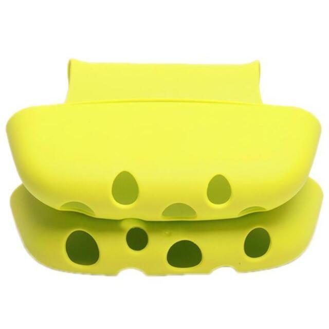 Creative Double Saddle Sink Caddy Sink Kitchen Organizer Storage Rack Holder S