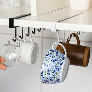 Kitchen-Under-Cabinet-Towel-Cup-Paper-Hanger-Rack-Organizer-Holder-Storage-Z2H0
