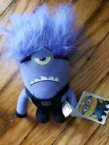 Evil-Minions-Plush-Toy-Despicable-Me-Purple-Stuffed-Animal-Monster-Stewart