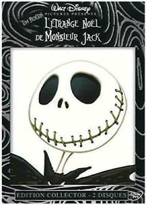 Double DVD : L'étrange noel de Monsieur Mr Jack - Disney - NEUF