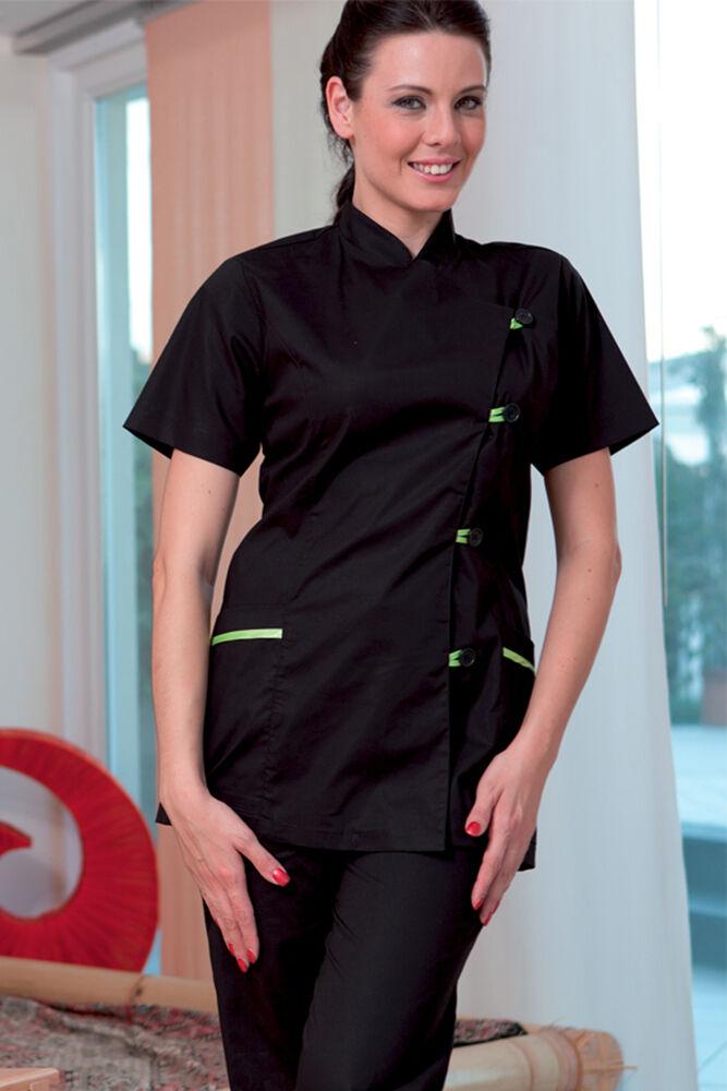 grand Loose Shirt sanitaires Femme Uniforme médecin Esthéticienne apothicaire Clothing