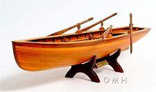 """24.5"""" Long FULLY ASSEMBLED Boston Whitehall Tender Wooden Model Boat"""