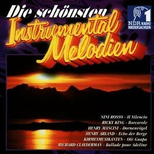 Die-schoensten-Instrumental-Melodien-NDR-1-Radio-Nieders-Billy-Vaughn-CD
