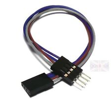 6 inch 4 pin pins Female - Male Arduino Jumper Cables Wires Sensor Shields - UK