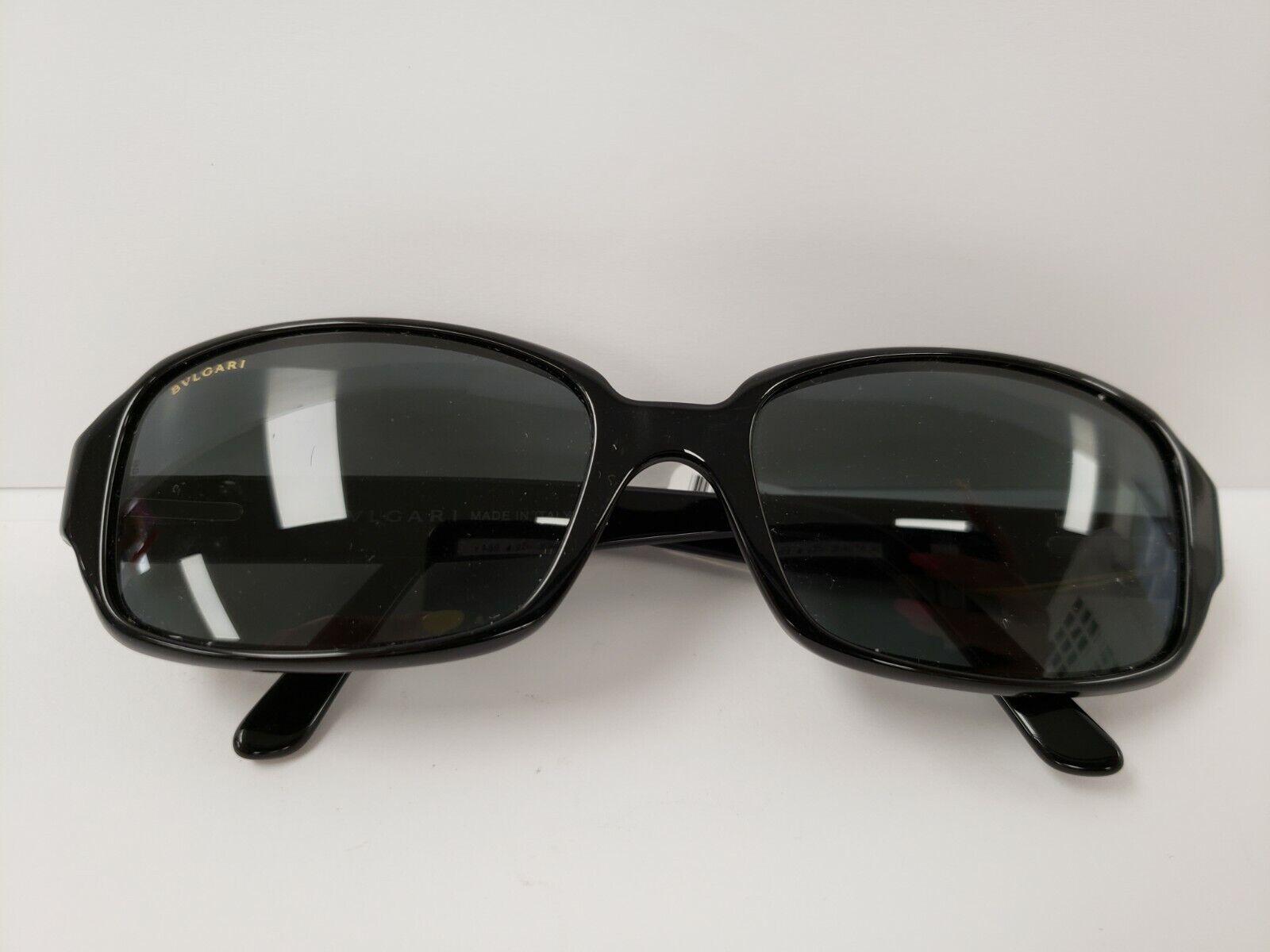 (I-17571) Bvlgari Sunglasses- Black