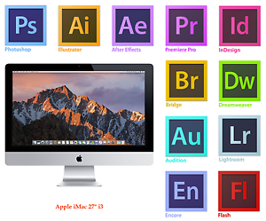 APPLE iMAC 27 inch i3 16GB Adobe PhotoshopIllustratorIndesignMS Office 2016 - <span itemprop='availableAtOrFrom'>Feltham, United Kingdom</span> - We offer 14 days 'No fuss' guarantee ensuring a full refund if our products fails to meet your satisfaction, or is damaged during transit. Most purchases from business sellers are pro - Feltham, United Kingdom