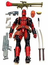Marvel Legends DEADPOOL Loose Complete Juggernaut BAF Xmen Rogue Cable IN HAND!!