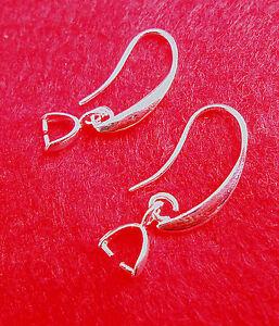 10PCS-DIY-Wholesale-Jewelry-Earring-Findings-Silver-Pinch-Bale-Hook-Earwires-TOP