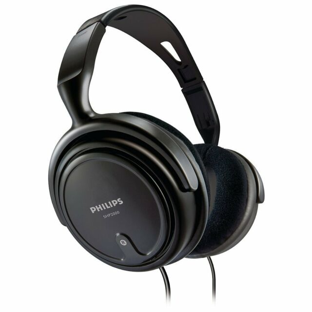 Philips Indoor SHP2000 Headphones,Black (OPEN BOX)