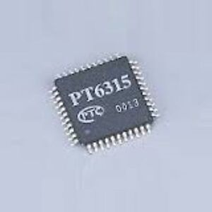 PT6315 VFD display driver IC TQFP