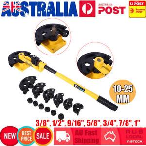 10-25mm-Manual-Pipe-Tube-Bender-Metal-Bending-W-Dies-Tool-Workshop-Handheld-AU