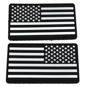 2-Pack-Tactical-US-Flag-USA-Glow-in-the-Dark-PVC-Patch-Hook-and-Loop