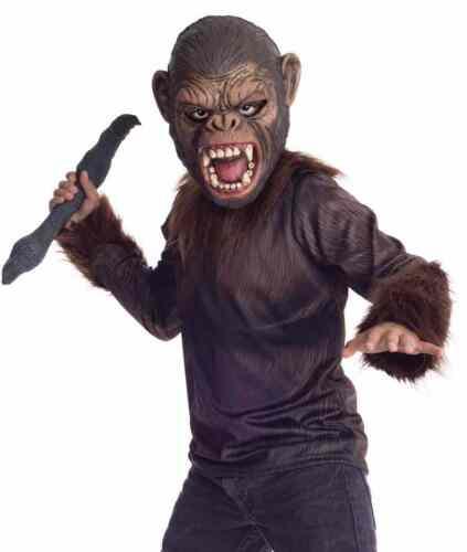 Caesar Dawn Planet Apes Monkey Chimpanzee Fancy Dress Up Halloween Child Costume