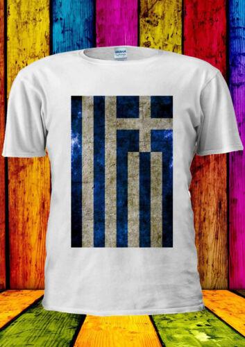 Pavillon grec Grèce Athènes Vintage T-shirt Gilet Débardeur Hommes Femmes Unisexe 1425