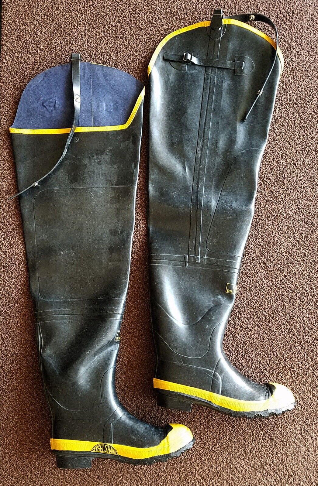 Steel Shank  Wader Firefighter boots  all goods are specials