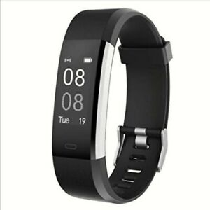 YAMAY-Fitness-Trackers-Fitness-watch-with-Heart-Rate-Monitor-0-96inch-Black