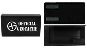 Geocaching-magnetic-box-Versteck-magnetische-Dose-Magnet-Geocache-Micro-PRINT