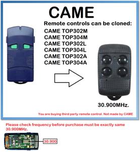 A TOP302M- TOP304M Universal Remote Control Duplicator 30.900 MHz.-afficher le titre d`origine t2DDnkrB-07141244-658616071