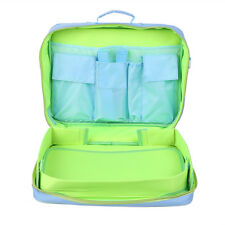 Children Travel Play Tray Kit School Backpack Car Train Play TrayKit Carry Bag