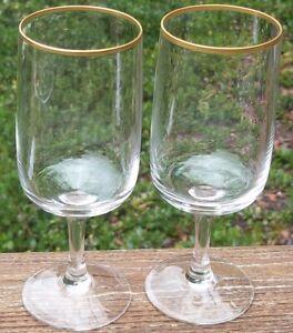 SET-OF-2-FOSTORIA-REHEARSAL-WINE-GLASSES-6-1-8-034-high-2-1-8-034-across-top